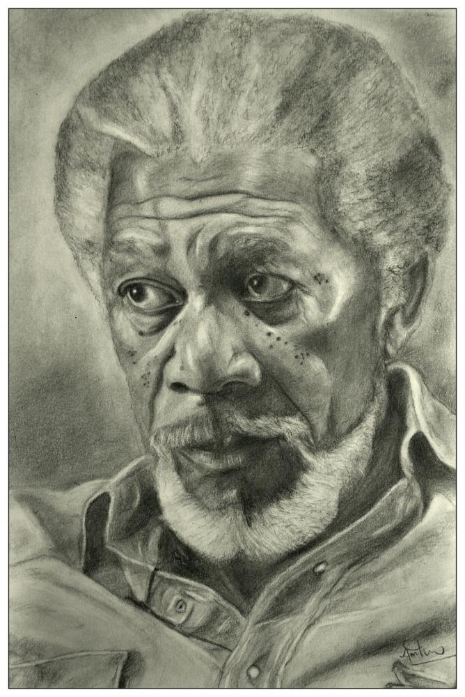 Morgan Freeman par arunayathil